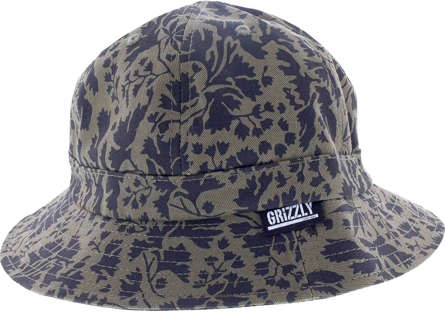 Grizzly Springfield Camuflaje Cubo S/m-Green Skate Sombrero ...