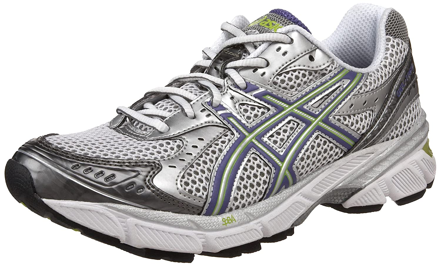 Amazon.com | ASICS Women's GEL-1160 Running Shoe, White/Grape/Lime, 11.5 M  US | Running