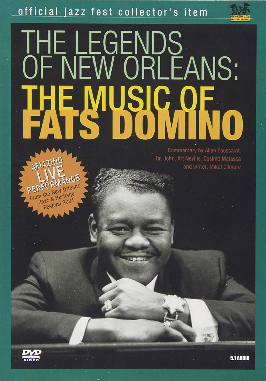 The Legends Of New Orleans - The Music of Fats Domino Universal Music Canada 2267279 Pop Rock