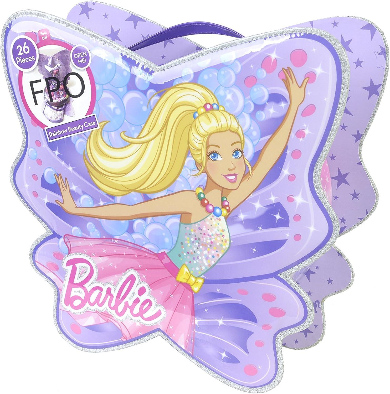 Barbie- Maletín Maquillaje, Color Violeta/Rosa (Markwins 9804510): Amazon.es: Juguetes y juegos