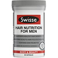 Swisse Ultiboost Hair Nutrition For Men 60 Capsules
