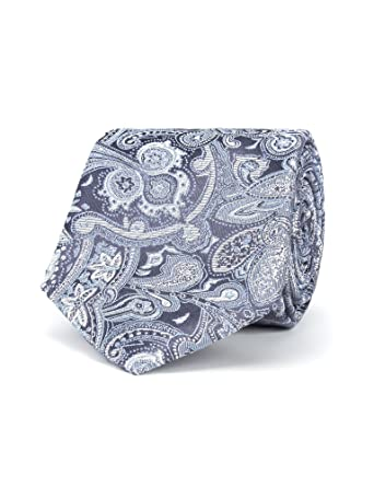 befe29a5f904 Stvdio By Jeff Banks Grey Intricate Paisley Tie - 0051037 Tie Grey, 0:  Amazon.co.uk: Clothing