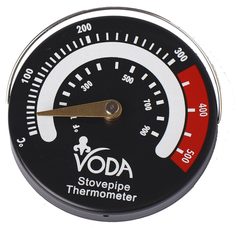 Magnetic Log Burner Stove Pipe Thermometer