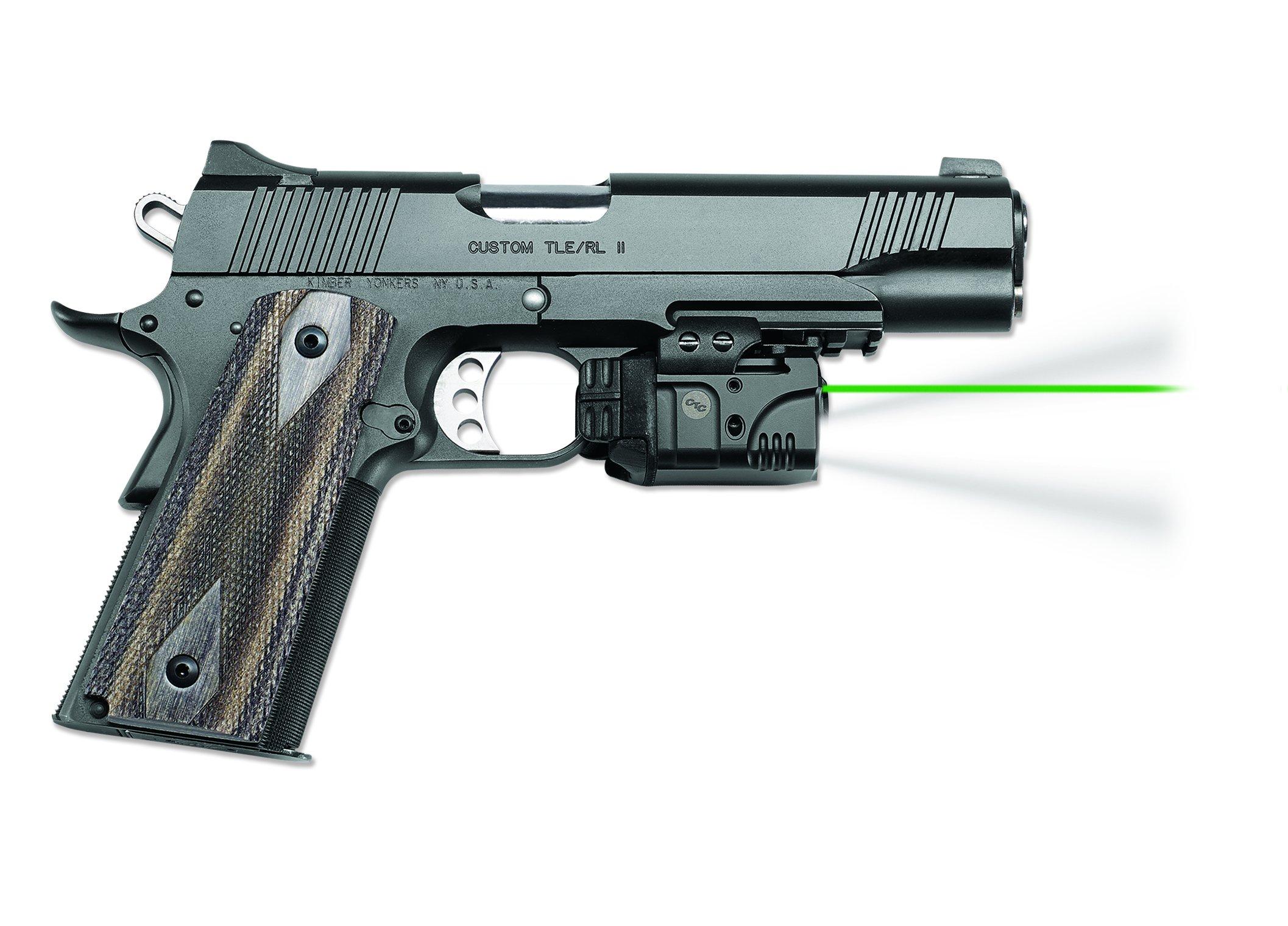 Crimson Trace CMR-204 Rail Master Pro Universal Green Laser & Tactical Light, Green Laser Sight by Crimson Trace