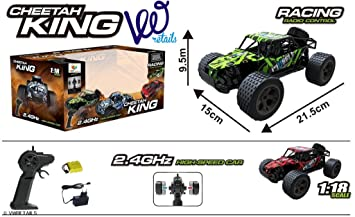 Buy VWR Cheetah King 2 4GHz 1:18 Extreme Power High Speed RC Muscle