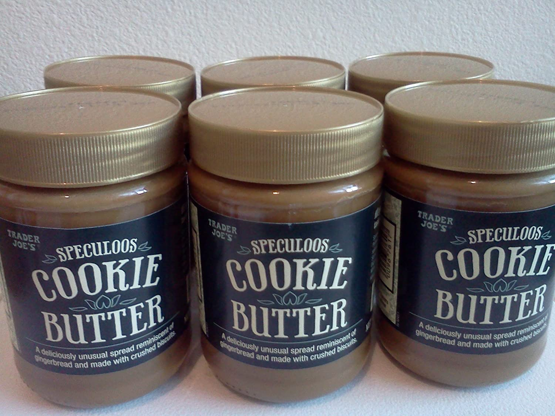 Trader Joe's Speculoos Cookie Butter Set of 6 Jars
