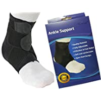 Breathable Neoprene Adjustable Ankle Support Wrap and Stabilizer, Made of Quality Material