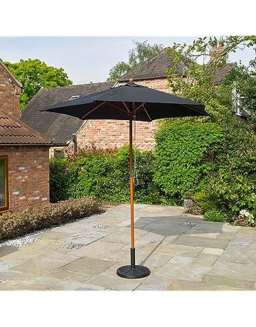 322b40479ef Kingfisher Wooden Garden Parasol (2.4m)