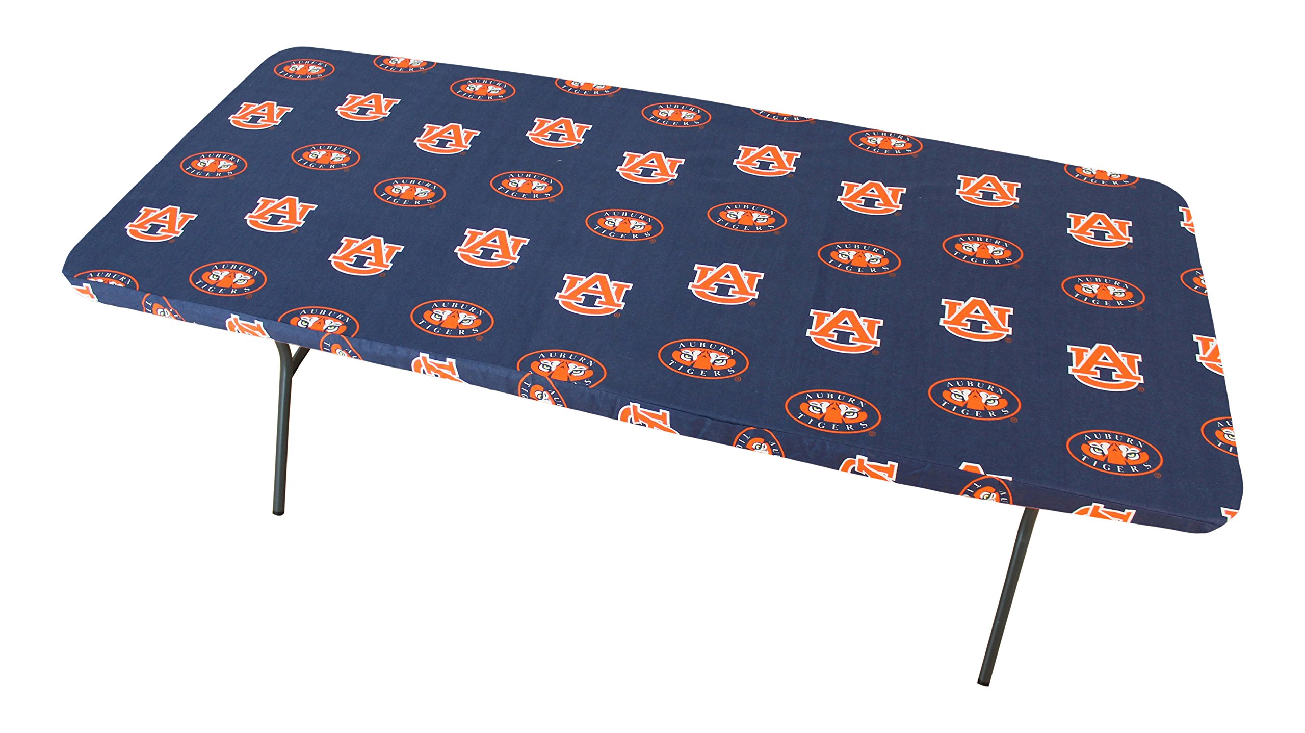 College Covers Auburn Tigers 8' Table Cover - 95'' x 30''
