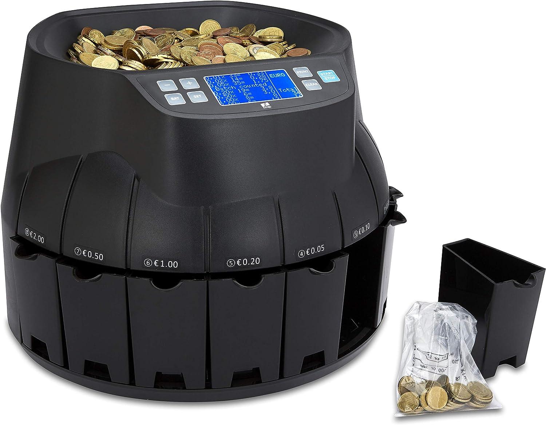 Contatore di monete automatico EURO ZZap CS40