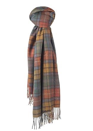 Kiltane of Scotland 100/% Lambswool Scottish Tartan Scarf Buchanan Antique