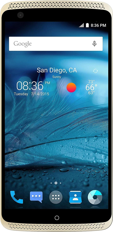 ZTE Axon Pro Unlocked Phone, A1P132, 64 GB Ion Gold