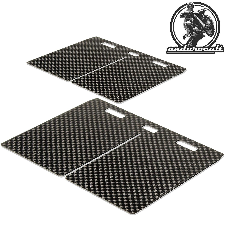 endurocult 2x Carbon Membran kompatibel mit Gas Gas EC 250//300