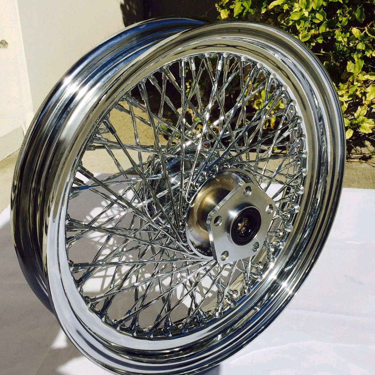 Ultima 16'' X 3'' Twisted 80 Spoke Rear For Harley-Davidson