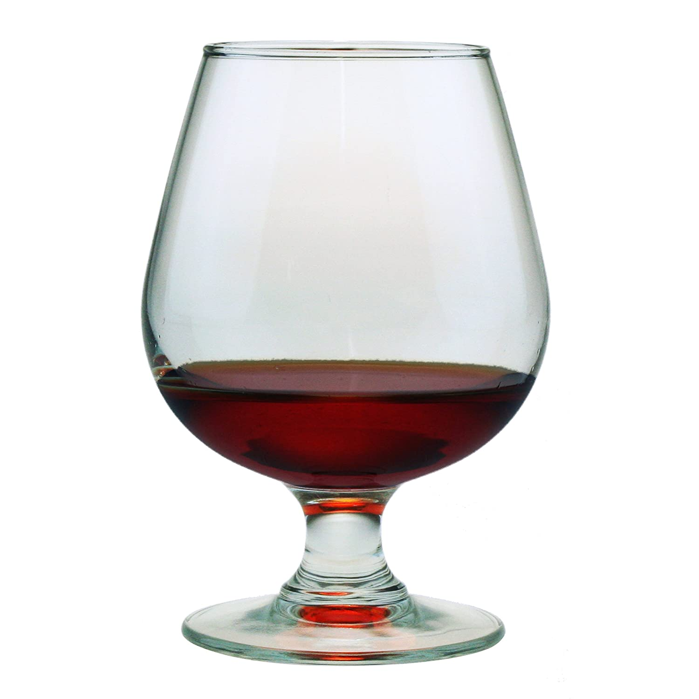 Susquehanna Glass Brandy Snifter Glasses, Set of 4, 12 ounces AMZ-9490-00-4
