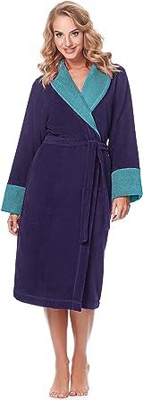 TALLA S. Merry Style Bata Larga Vestidos de Casa Ropa Mujer MSLL1003