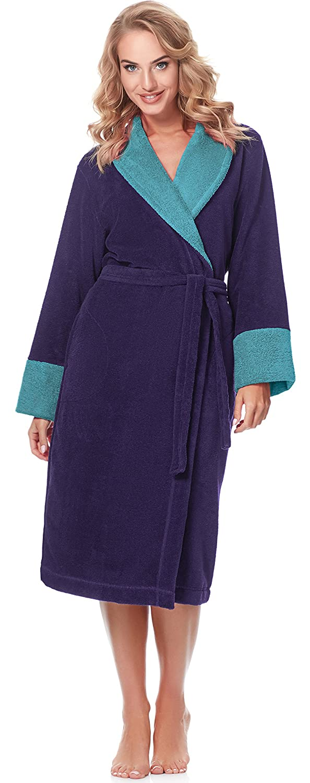 Merry Style Bata Larga Vestidos de Casa Ropa Mujer MSLL1003