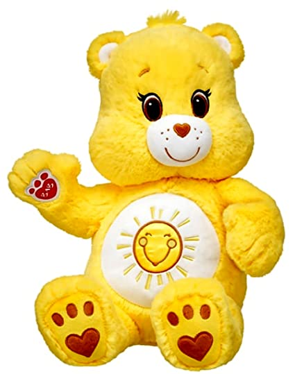 amazon com build a bear workshop care bears funshine 17 plush bear
