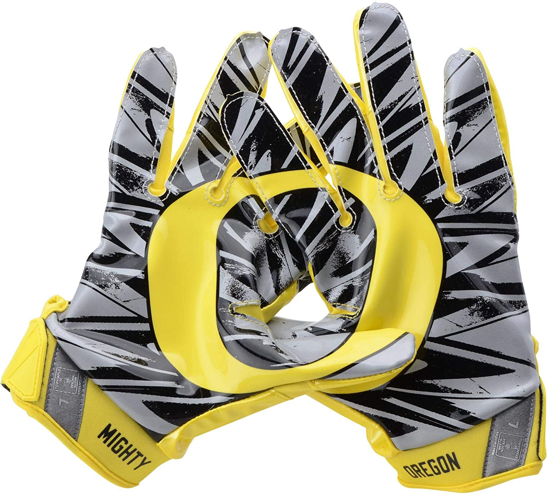 online store b6bbc 99c7c Oregon Ducks Team-Issued Yellow Vapor Jet Nike Football ...