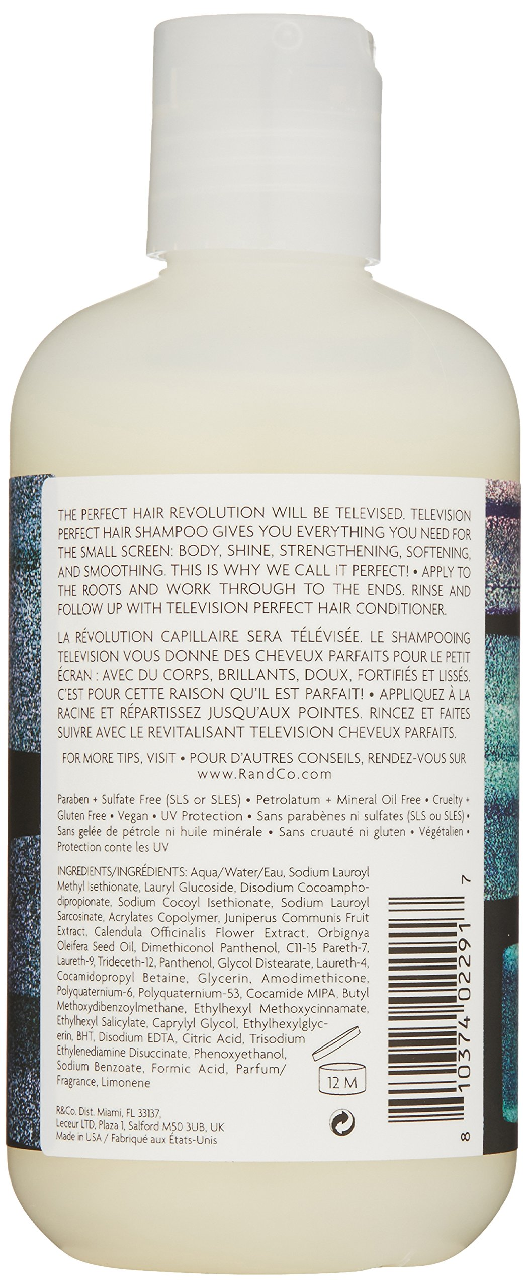 R+Co Television Perfect Hair Shampoo, 8 fl. oz. by R+Co (Image #2)