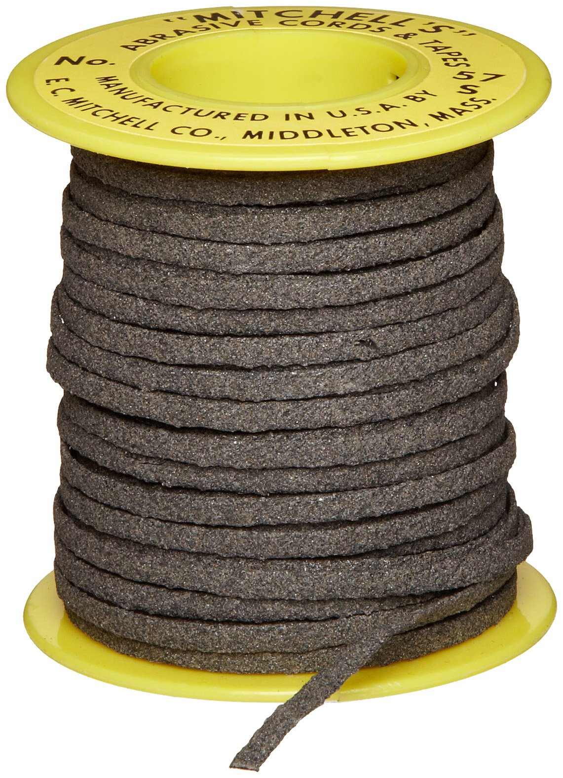 Mitchell Abrasives 57-S Flat Abrasive Tape, Silicon Carbide 150 Grit 1/8'' Wide x 50 Feet