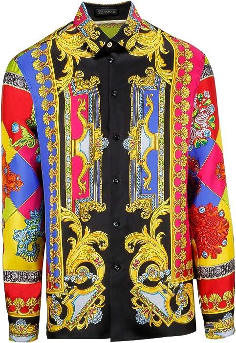 rivenditore di vendita 3dc16 3caba Versace Collection Camicia Uomo A75980a229248a707 Seta ...