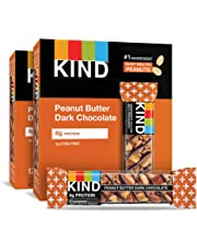 KIND Bars, Peanut Butter Dark Chocolate, Gluten Free