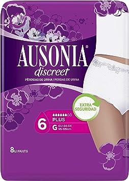 Comprar AUSONIA Discreet pants de incontinencia plus talla G paquete 8 uds