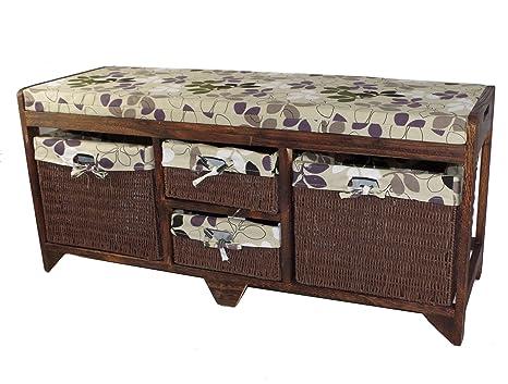 Incredible Geko 100 X 34 X 45 Cm Aston Wooden Storage Bench Inzonedesignstudio Interior Chair Design Inzonedesignstudiocom