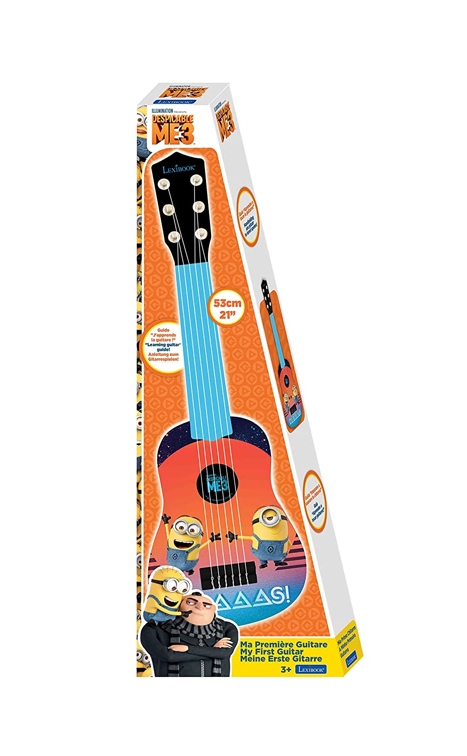 Dory - Mi Primera Guitarra, Color (Lexibook K200DO): Amazon.es: Juguetes y juegos