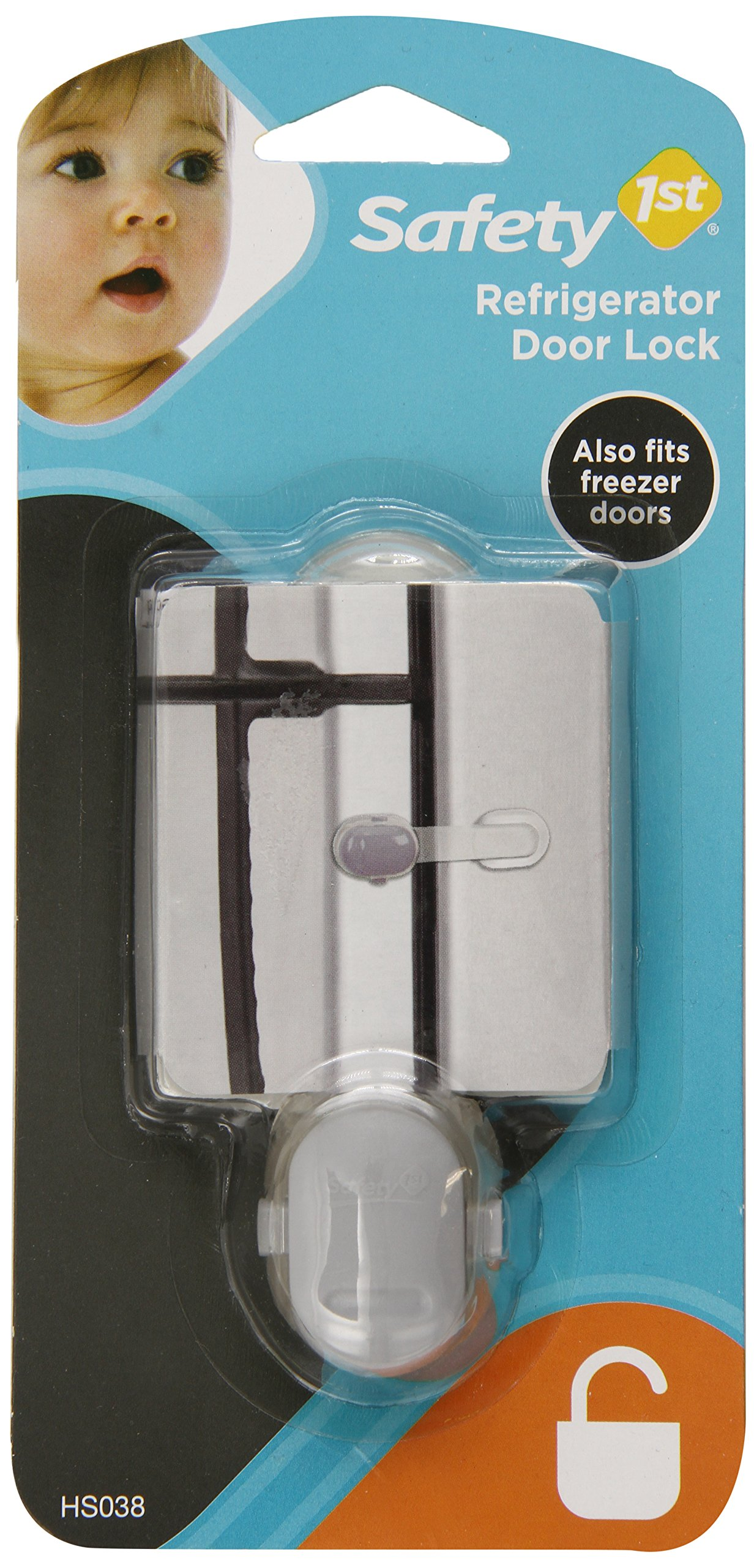 Amazon Com Dreambaby Refrigerator Latch Silver 2 Pack