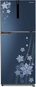 Panasonic 307 L 3 Star ( 2019 ) Inverter Frost-Free Double-Door Refrigerator (NR-BG311VPA3, Pointed Flower Blue)