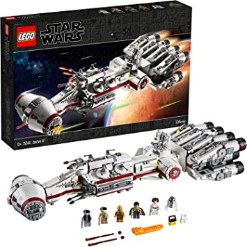 Oferta amazon: LEGO Star Wars - Tantive IV, Set de construcción de Crucero Espacial de Alderaan, maqueta de Nave Espacial Coleccionable (75244)
