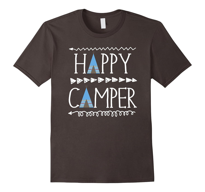 Happy Camper Teepee arrow shirt