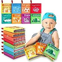 Libros Blandos para Bebé, 8 Piezas Libro