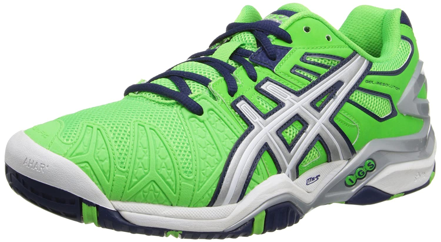 Amazon.com | Asics Men's Gel-Resolution 5 Tennis Shoe | Tennis & Racquet  Sports
