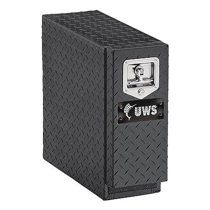 Small Truck Tool Box >> Amazon Com Uws Ec20052 22 Inch Gloss Black Aluminum Truck Bed Tool