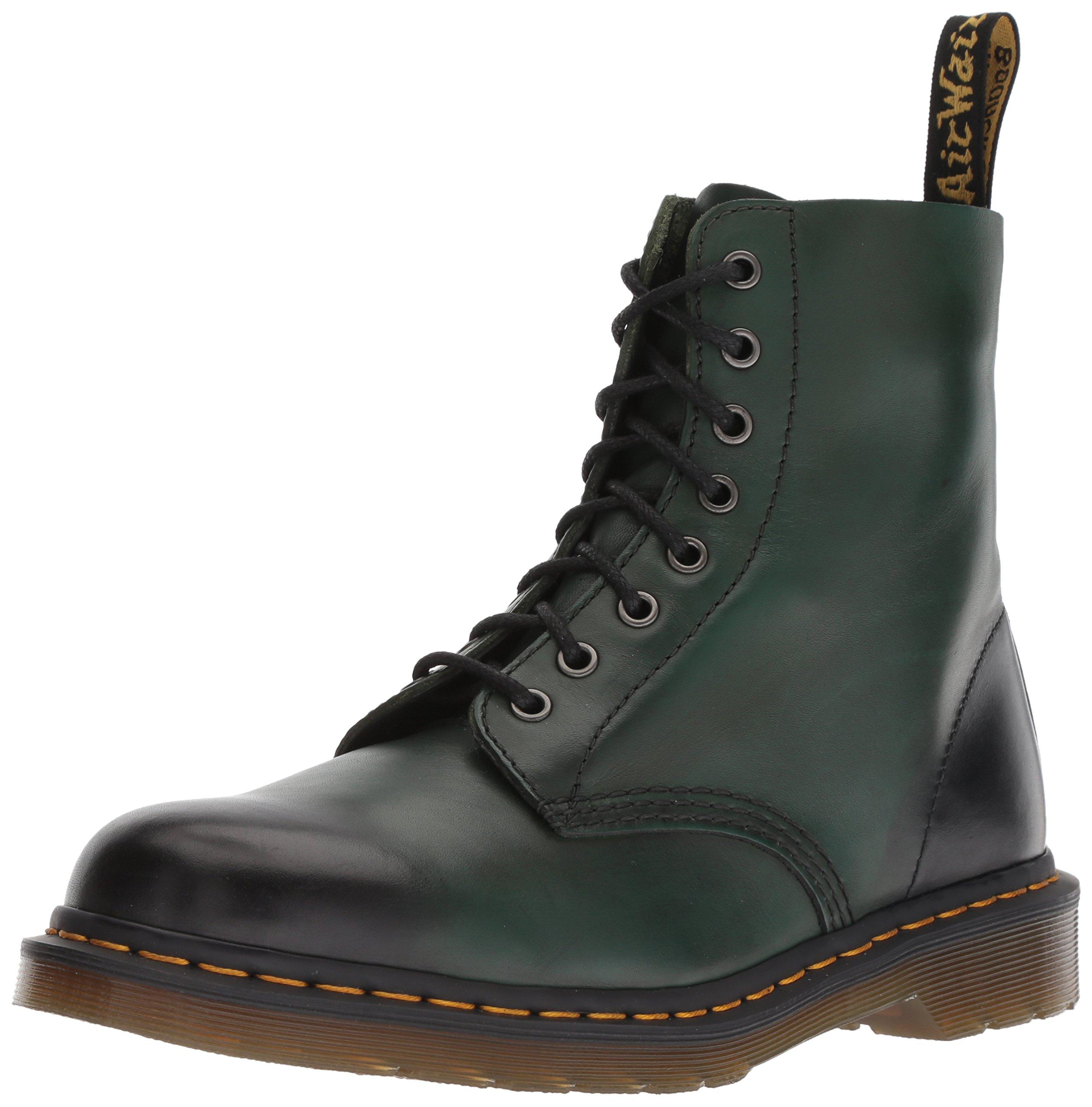 Dr. Martens 1460 Pascal Mid Calf Boot, Green, 3 M
