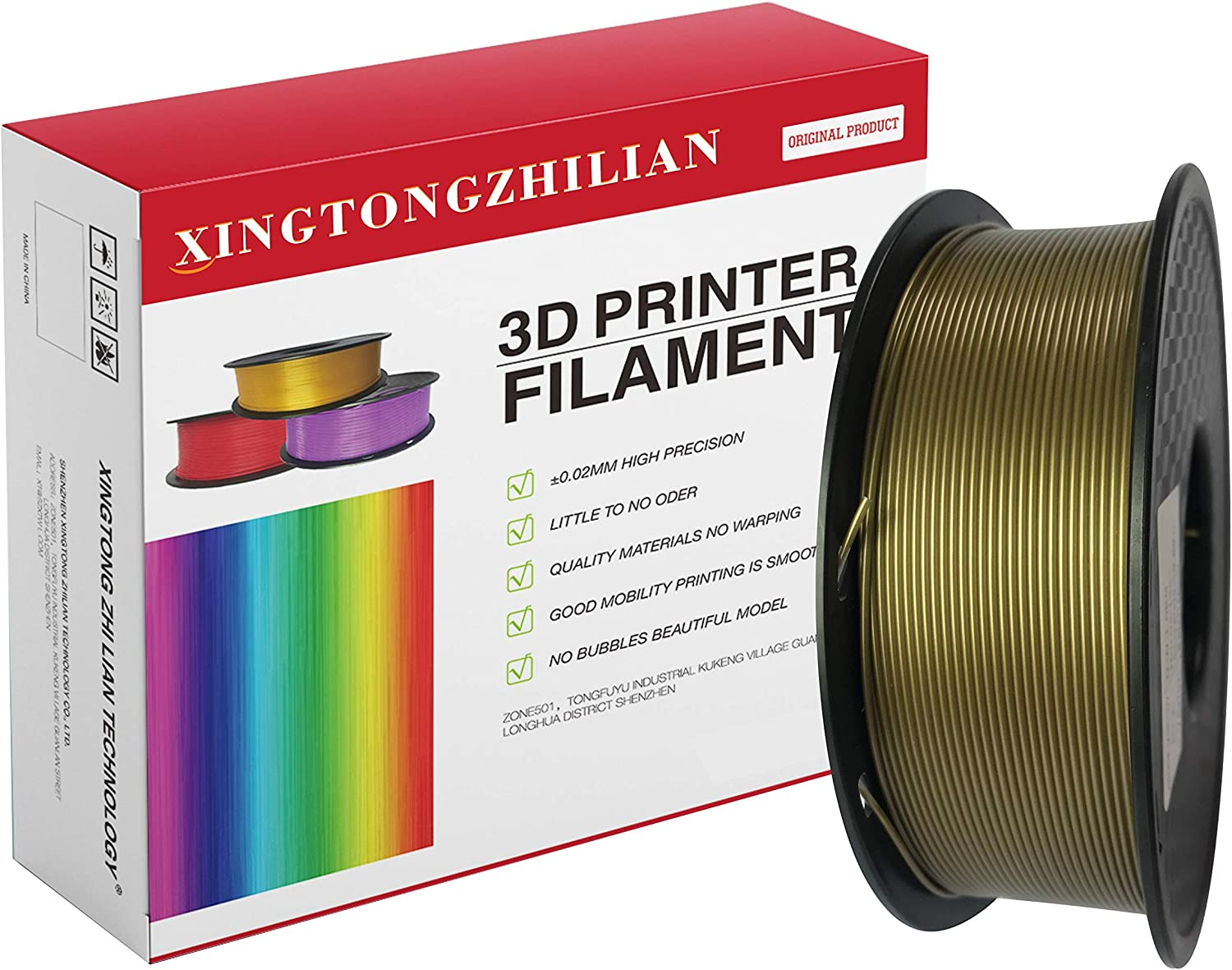 Xingtong Zhi Lian Technology Advanced filamento de impresión 3D ...