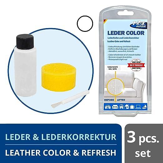 1 2 3 REPAIR Tinte para Cuero y Cuero sintético, Negro