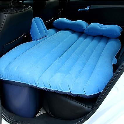Colchón hinchable con dos almohadas para coches, para acampar ...