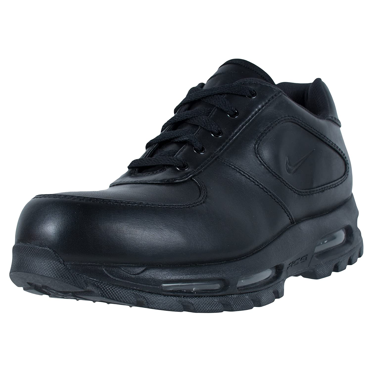 info for 080ca 30f78 NIKE AIR MAX GOADOME LOW LEATHER ACG BOOTS BLACK BLACK 312477 001   Amazon.ca  Shoes   Handbags
