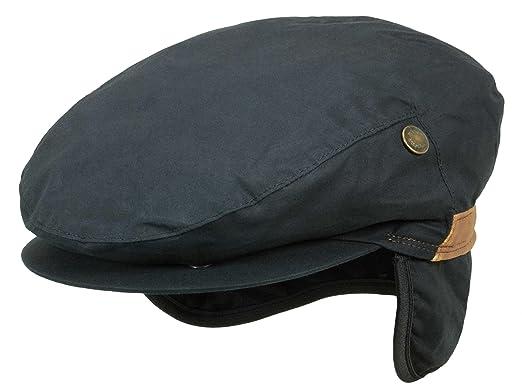 2c59f1f1179 Wigens Flat Cap Viggo black  Amazon.co.uk  Clothing
