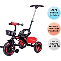 Luvlap Elegant Baby Tricycle, Red