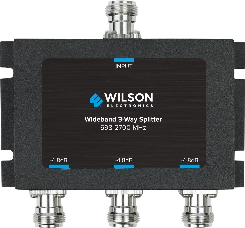Wilson Electronics -4.8 dB 3-Way Splitter, N-Female (50 Ohm) 859980