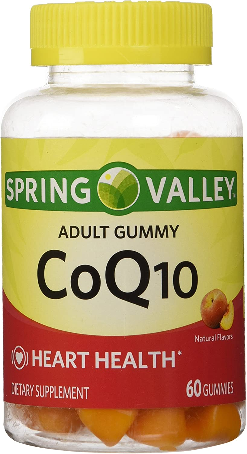 Spring Valley, Co Q-10 Dietary Supplement Adult Gummies, 60ct