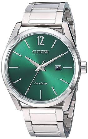 51b434757 Image Unavailable. Image not available for. Color: Citizen Men's Eco-Drive  Japanese-Quartz Stainless-Steel ...