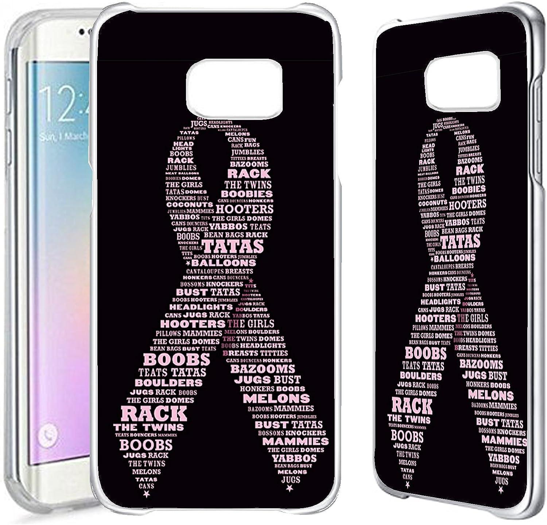 Samsung S7Edge–Clair Plastique Cases