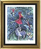 "Marc Chagall Signed & Hand-numbered Limited Edition Lithograph Print, ""Circus Girl"" (Unframed)"