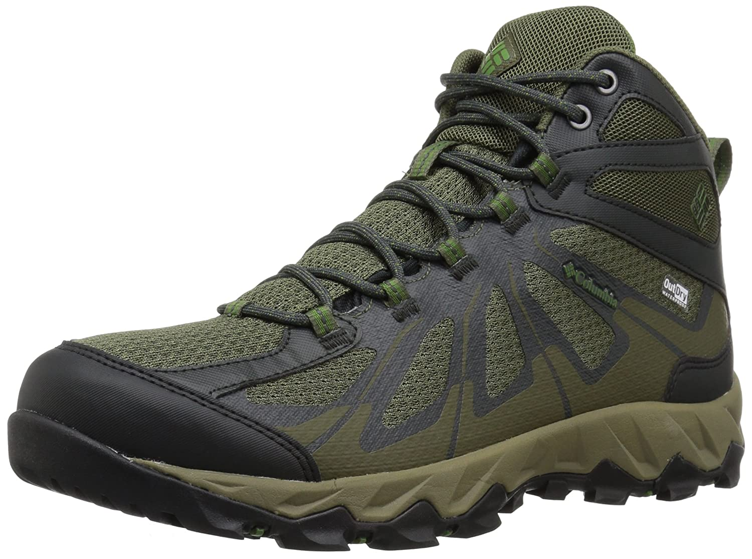Columbia メンズ MEN'S PEAKFREAK XCRSN II XCEL MID OUTDRY B073RNDDZ5 13 Regular US|Nori, Dark Backcountry Nori, Dark Backcountry 13 Regular US